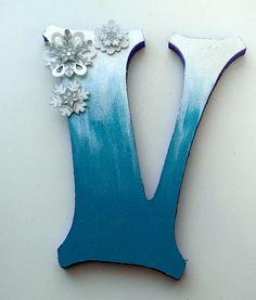 Frozen craft letter Art