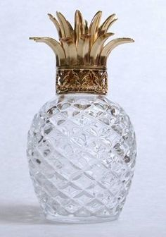 Pineapple lamp - so kitsch Pineapple Lamp, Pineapple Icon, Pineapple Express, Pineapple Juice, Clear Glass, Glass Crystal, Cut Glass, Fancy, Home Accessories