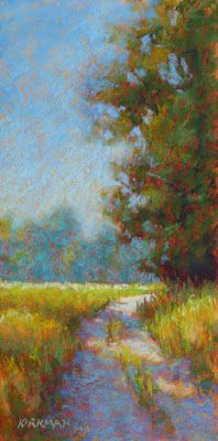Ranch Road 22 by Rita Kirkman Pastel ~ 12 x 6 inches Small Paintings, Oil Paintings, Impressionist Art, Pastel Art, Fine Art Gallery, Art World, Cool Art, Art Projects, Abstract