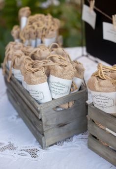 50 Wedding Favor Burlap Bagsthe Perfect Blend Party By TheSudsCafe 9000