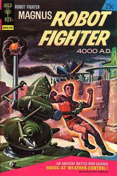 Magnus, Robot Fighter 36