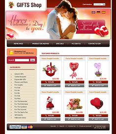 Gifts Presents osCommerce Templates by Svelte