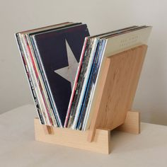 hand made record holder