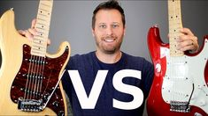 Check out this comparison between two awesome mid-rage guitars - a Mexican Standard Stratocaster and a G&L Legacy Tribute! If you found this video helpful, p. Leo Fender, Guitar Tutorial, Rage, Music Rooms, Songs, Electric Guitars, Youtube, Design