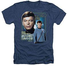 Heather: Star Trek The Original Series Doctor McCoy T-Shirt @ niftywarehouse.com #NiftyWarehouse #StarTrek #Trekkie #Geek #Nerd #Products
