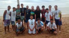 Blog do Inayá: Sob a orientação da Professora Laise Barcelos alunos do Inayá participam do Festival de Vôlei de Praia e levam o bronze