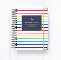 A Planner to Have & To Hold - Simplified Planner