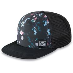 The Dakine Hula women's trucker hat communicates the peaceful summer vibes. The front foam panel features Hawaiian flora prints accented with a smart little Dakine patch, an adjustable snapback ensures your hat stays put through all your adventures.