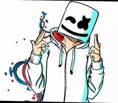 Image Result For How To Draw Marshmello Dj Tattoo Ideas Drawings
