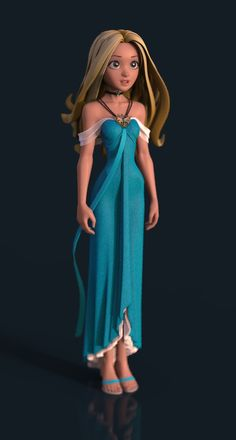 Nouveau Girl 09 Dress by tjentom on DeviantArt 3d Model Character, Character Poses, Female Character Design, Character Modeling, Character Concept, Character Art, 3d Modeling, Zbrush, Girls Characters