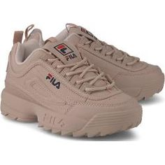 fila shoe Fila Sneaker Disruptor M Low nude Damen FilaFila Sneakers Mode, Sneakers Fashion, Shoes Sneakers, Shoes Heels, Fila Sneaker, Simple Shoes, Hype Shoes, Types Of Shoes, Shoe Boots