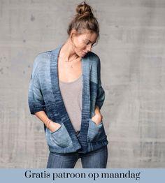 Gratis patroon op maandag - Breipatroon vest. Ontvang ieder maandag het gratis patroon en een leuke aanbieding van het garen.