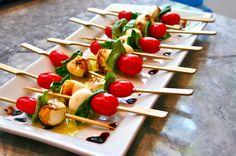appetizers - Caprese Salad Skewers