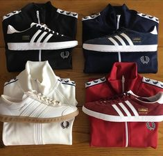 My adidas footwear wishlist · Perry Boy! Lush Fred Perry trackie tops and  matching Gazelles plus a pair of off 9a7312d12