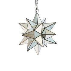 Star Chandelier, Modern Chandelier, Chandelier Lighting, Antique Brass, Antique Mirrors, Large Chandeliers, Hanging Lanterns, Glass Globe, Star Designs