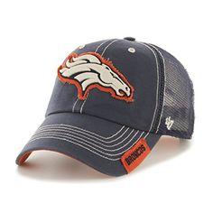 Denver Broncos 47 Brand Navy Turner Mesh Clean Up Adjustable Snapback – Sporting Up Denver Broncos Hats, Denver Broncos Womens, Broncos Gear, Go Broncos, Broncos Fans, Bronco Sports, Bronco Football, Football Stuff, Football Baby