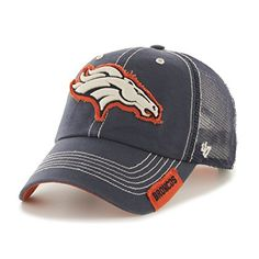 NFL Denver Broncos '47 Turner Clean Up Mesh Adjustable Ha…