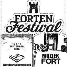 Tot 18 uur muziek tijdens de opening van het gerestaureerde #Muziekfort: een mooie afsluiting van het #Fortenfestival, #Werelderfgoedweekend en #OpenMonumentendag! #Stampions #Beverwijk #StellingvanAmsterdam #OMD16
