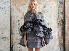 Satu Maaranen Design Museum, Put On, High Fashion, Ruffle Blouse, Fashion Design, Inspiration, Clothes, Tops, Dresses