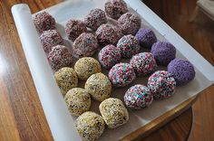 Romkugler (Rum balls) | cyclonebill, via Flickr