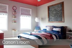 Sherwin Williams Emerald Matte; 7015 Repose Gray.  Purchased on sale for $38.79 Ceiling Paint: Behr Premium Plus Ultra Stain Blocking Paint & Primer in One; color matched to Sherwin Williams 6871 Positive Red $31.98