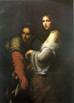 Francesco Furini - Giuditta con la testa di Oloferne