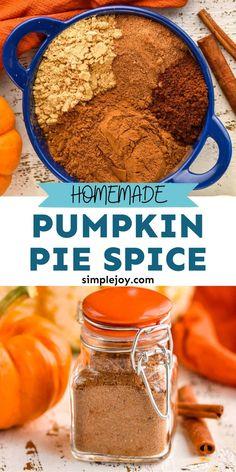 Pumpkin Fudge, Homemade Pumpkin Pie, Homemade Spices, Homemade Seasonings, Pumpkin Chocolate Chips, Pumpkin Pie Spice, Pumpkin Recipes, Fall Recipes, Yummy Recipes