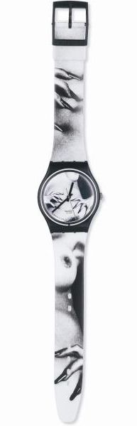 Limited Edition Helmut Newton Swatch watch