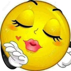 Mascot illustration of a smiley face kissing - – Millions of creative photos, illustrations, videos and audio files for your inspiration a - Images Emoji, Smiley Face Images, Emoji Pictures, Funny Pictures, Smiley Faces, Funny Emoji Faces, Emoticon Faces, Funny Emoticons, Love Smiley