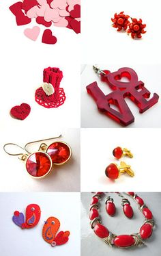 Fire In My Heart True Love Red Things On Etsy --Pinned with TreasuryPin.com