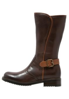 Friboo Stivali alti - dark brown - Zalando.it