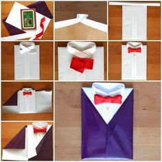 Way To Wrap A Gift For Men: