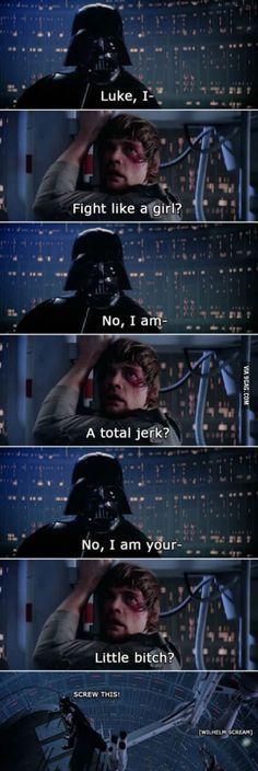 Luke I am...