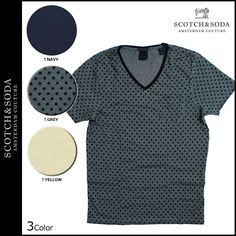Sugar Online Shop | Rakuten Global Market: Scotch & soda SCOTCH &SODA short sleeve T shirt tee shirt mens 2015 in stock 3 color OIL WASHED SHORTSLEEVE V-NECK TEE WITH CHESTPOCKET [3/16 new in stock] [regular] ★ ★