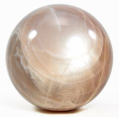 Beige Moonstone 2.31 inch 0.61 lbs Natural Crystal Polished Sphere - India