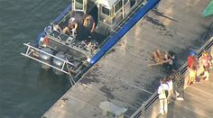 Police are trying to determine what caused a ferry boat to crash into a group of kayakers on the Hudson River.