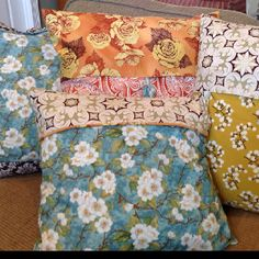 Pillows to match YOUR space!  Www.thesolutionocala.com