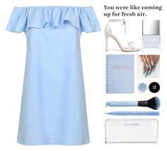 """Fresh air"" by samantha-1221 ❤ liked on Polyvore featuring Grey's Anatomy, Alexandre Birman, Butter London, Givenchy, Stila and MICHAEL Michael Kors"