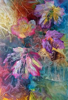 Dance Of Color Print by Vijay Sharon Govender