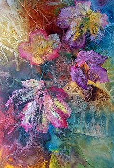 Dance Of Color Print by Vijay Sharon Govender