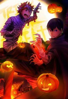 Haikyuu!! Halloween Anime boys