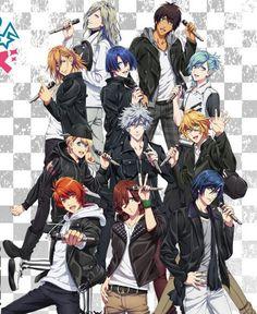 Starish and Quartet Night. -- Anime, Uta no Prince-sama, official art, season two, Maji Love 2000%