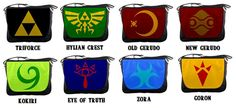 Legend of Zelda  Messenger Bags by Much Needed Merch