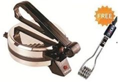 @ Rs. 1399 Worth of Rs. 1999 Discount 30 % Coupon to Get Nova Roti Maker N124-CCC Single Light with Immersion Rod Free http://www.isayoffer.com/coupon-to-get-nova-roti-maker-n124-ccc-single-light-with-immersion-rod-free/