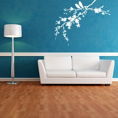 Our nature section has many nature wall decals including flowers, grasses, trees, and leaves to select from. Buy these nature wall stickers online now. Wall Decal Sticker, Wall Stickers, Flower Wall Decals, Hand Painted Furniture, Furniture Redo, Bedroom Wall, Bedroom Ideas, Wall Murals, Wall Art