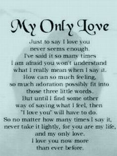 Love Deeply Poems For Him In