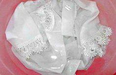 Tratamientos caseros para quitar las manchas de sudor de la ropa blanca #blanquear #ropablanca #quitarmanchas
