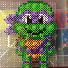 TMNT Donatello perler beads by cl0588