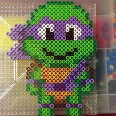 TMNT Donatello perler beads by cl0588