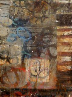 "Light Rain in Siena        2008      Acrylic on Canvas      40"" x 30"""